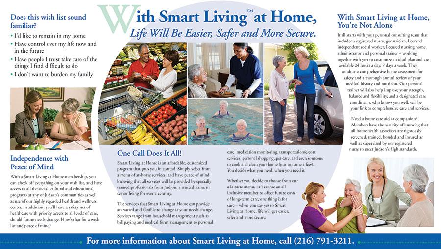 Judson Smart Living Quad Fold Brochure Hamlyn Marketing
