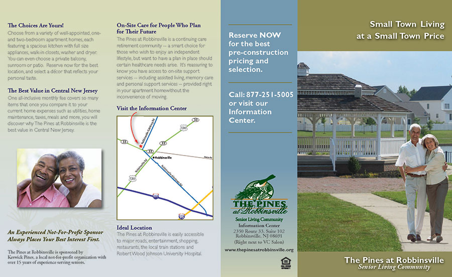 the pines at robbinsville brochure