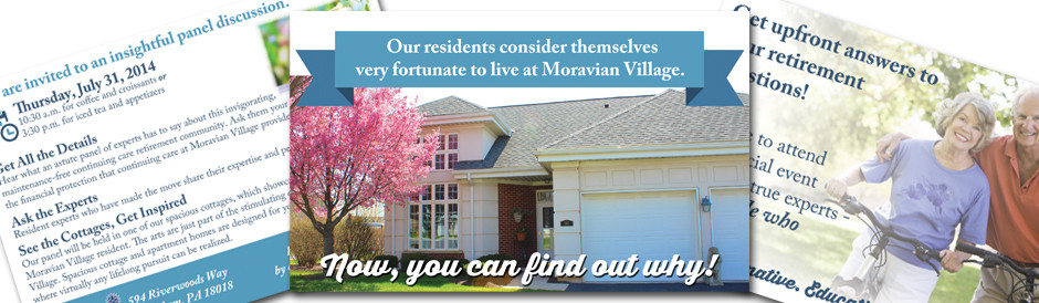 Moravian Village Direct Mail