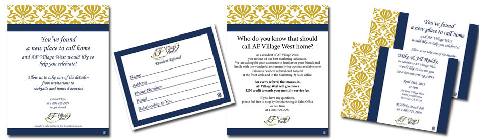 AF Village West Invitation
