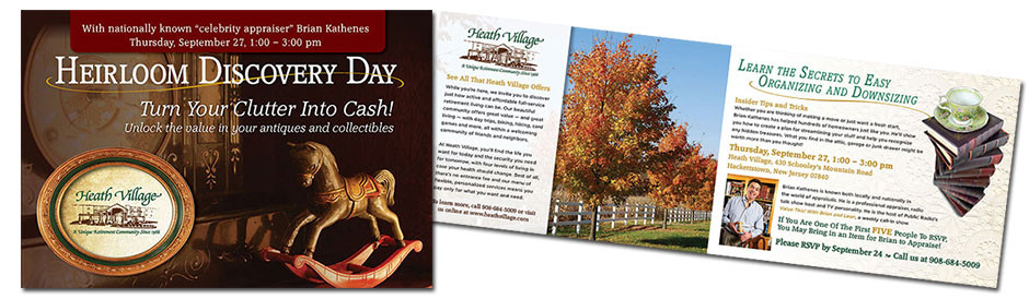 Heath Village Direct Mail