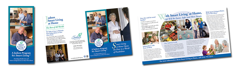 judson smart living quad fold brochure hamlyn marketing and
