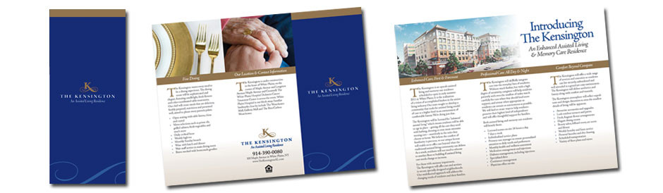 The Kensington Trifold Brochure